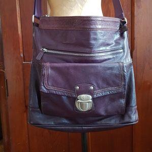 Like new DANIER genuine leather crossbody bag